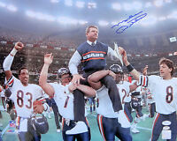 Mike Ditka Signed Chicago Bears SB CHAMPS 16x20 Photo JSA