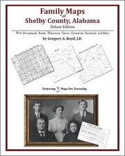 Family Maps Shelby County Alabama Genealogy AL Plat
