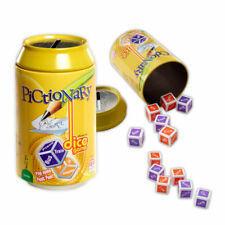 Brand New Pictionary Dice Travel Game in a Can *Free Shipping*