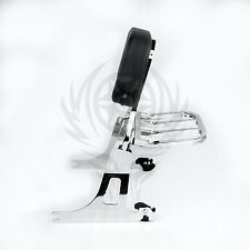Detachable Passenger Backrest Sissy bar Rack For 06-17 DYNA STREET BOB FXDB