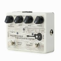 Caline Acoustic Guitar Effect Pedal Guitar Electric Preamp DI Box Effects CP-67