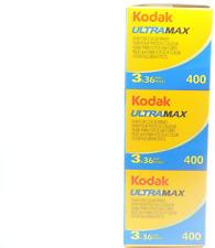 Kodak Ultramax ISO 400 Colour 36 Exposure 35mm Film - 3 Pack