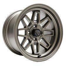Fatlace / AME F/Zero / F02 - 15x9.5 +25 4x100 Granite / Bronze (Two Wheels)