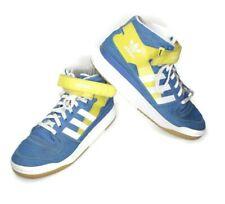 Adidas Forum Originals Mid Refined Blue Yellow White Mens G44064 Size 11 2011