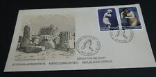 CYPRUS, First Day Cover FDC 1982, Aphrodite nude woman, OFFICIAL FDC, ZYPERN !!!