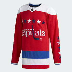Adidas Mens Washington Capitals Alternate Jersey Sweater Authentic NHL Size 52