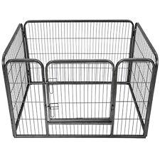 Welpenlaufstall Tierlaufstall Freigehege Welpenauslauf Hunde Laufstall Rechteck