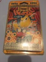 ❤️ dynamite headdy game gear Blister Rigide Sega Neuf New Factory Sealed Pal Fr