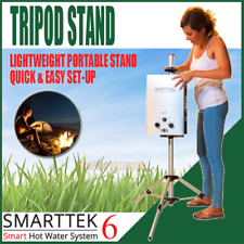Smarttek Tripod Stand, quick setup hot water system for outdoor camping shower