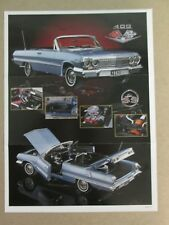 Franklin Mint Brochure 1963 Chevy Impala 409
