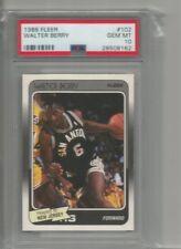 1988 fleer walter berry basketball graded psa 10