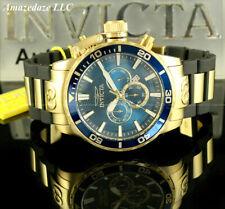 NEW Invicta Men 52mm Corduba Ibza Chronograph BLUE DIAL Stainless Steel Watch !!