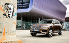 "VOLVO XC90 D5 INSCRIPTION A2 CANVAS PRINT POSTER FRAMED 23.4""x15.4"""