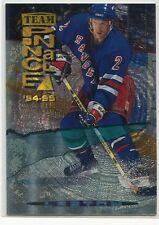 1994-95 Pinnacle Team Pinnacle 4 Rob Blake Brian Leetch