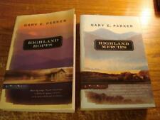 Lot of 2 Gary E. Parker Books Highland Mercies, Highland Hopes