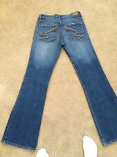 REFUGE Blue Denim Stretch Boot Jeans Junior Ladies Tag Size 7