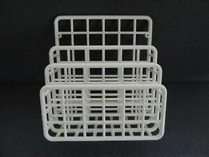 Yaffa Design Mini Catch All Wall Desk Plastic Storage Organizer Rack 80s VTG