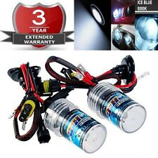 35W Low Beam HID Headlight Replacement Bulb 9006 9012 HB4 8000K 8K Ice Blue K1