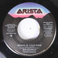 Rock Promo Nm! 45 Air Supply - Stars In Your Eyes / Stars In Your Eyes On Arista