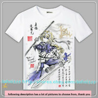 Short Sleeve Tee Unisex Anime Fate/Grand Order Cosplay Casual T-Shirt Tops #C40