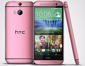 Pink Original HTC One M8 Android 5'' Unlocked 32GB 4G LTE Quad-core SmartPhone