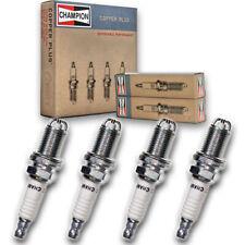 4 pc Champion Copper Spark Plugs for 2002-2008 Mini Cooper - Auto Pre Gapped bz