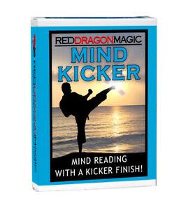 Mind Kicker - Superb Mind Reading Card Magic Trick  - Bicycle Stock - SEE VIDEO