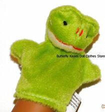 Frog Hand Puppet 18 in Doll Clothes Accessory Fits American Girl