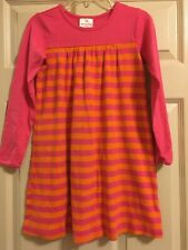 Hanna Andersson Striped Dress Girls Size 130 or 8