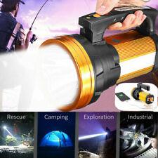 Super Bright Searchlight Handheld Spotlight Torch Rechargeable Flashlight Alumin