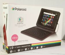 "Polaroid L10●10"" Tablet+Case●Android 5.0 Lollipop●1GB RAM●16GB●Bluetooth 4.0●"