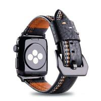 Quality Vintage Leather Watch Strap Band for Apple Watch Series 5/4/3/2 40/44mm