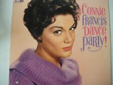 Connie Francis  Dance Party!  mono LP