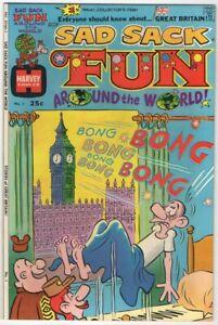 Sad Sack Fun Around The World #1  NM- 9.2  1974 Harvey