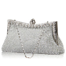 Sparkling Rhinestones Crystal Evening Bag Wedding Bridal Party Clutch Purse Hot