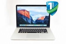 "Apple MacBook A1398 Pro 15.4"" Core i7-4980HQ 16GB RAM 1TB SSD Retina Mid 2015"