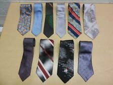 Lot of 10 Vintage Neckties Wembley, Loper, Ketch, Atkins, Weitz, Cassini, Tootal