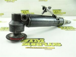 """TOP CAT PNEUMATIC RIGHT ANGLE AIR GRINDER 3/8"""" ARBOR 12000RPM"""