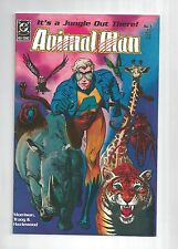 Animal Man #1 1st Grant Morrison writing on DC, Brian Bolland Cover, 9.0 VF/NM