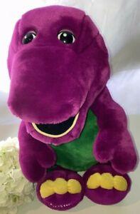 TM Barney Vintage Toy Plush Large Soft Original TV Show Character Kid Free Play