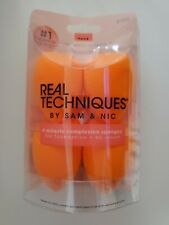 Real Techniques 4 MIRACLE Complexion SPONGES by Sam and Nic!! NEW BRAND!!