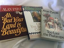 3 PBs Alan Paton: Cry The Beloved Country, Too Late the Phalarope, Ah..Beautiful