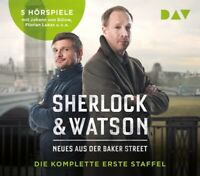 SHERLOCK & WATSON.NEWES AUS DER BAKER STREET.DIE - KOPPELMANN  5 CD NEW