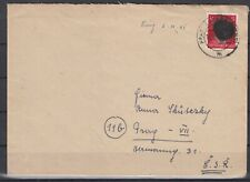 DC7995/ GERMANY SOVIET ZONE – RPD CHEMNITZ – MI # AP 788 I ON COVER