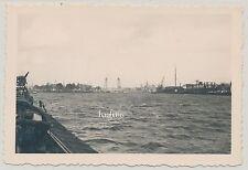 Foto Holland Hafen Rotterdam - 1940   2.WK  (B817)