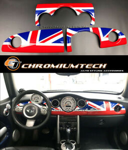 MK1 MINI Cooper/S/ONE JCW R50 R52 R53 Union Jack Dashboard Cover for RHD