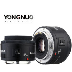 Yongnuo 35mm YN35mm F2.0 lens Wide angle Fixed For Canon 600d 60d 5DII 5D 500D
