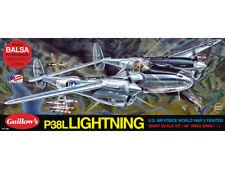 Guillows Lockheed P-38l rayo modelo