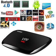 V99 Hero TV BOX 4GB+32GB Octa Core 4K HD Android WiFi 2.4GHz/5GHz Media Player