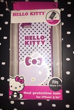 Hello Kitty iPhone 5 5s se 5c Case Pink White Polka Dot